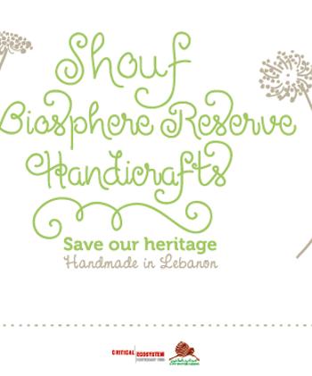 Brochure handicrafts - cover